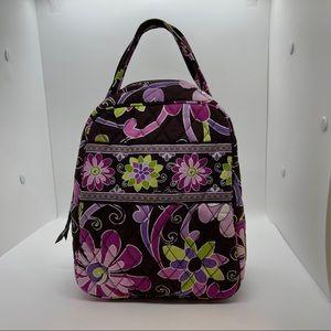 Vera Bradley Purple Punch Let's Do Lunch Bag
